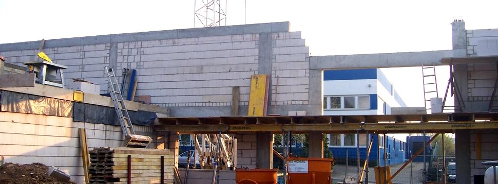 Neubau Lagerhalle Endrulat